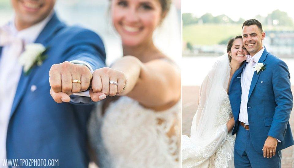Bride and Groom Wedding Rings • tPoz Photography  •  www.tpozphoto.com