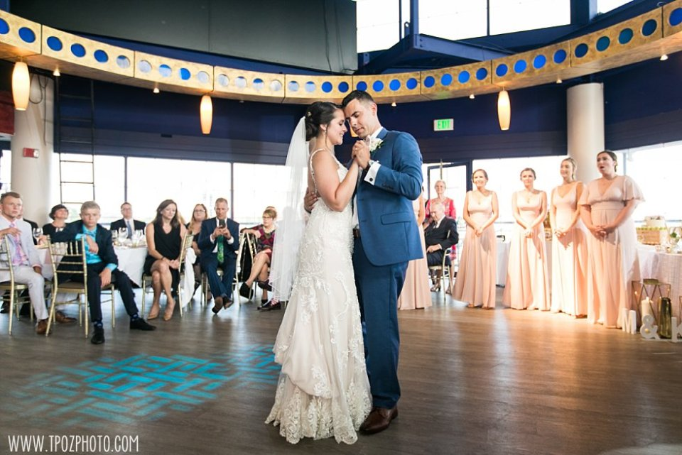 First Dance Pier 5 Hotel Wedding •  tPoz Photography  •  www.tpozphoto.com