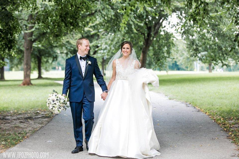 Patterson Park Wedding bride and groom • tPoz Photography • www.tpozphoto.com