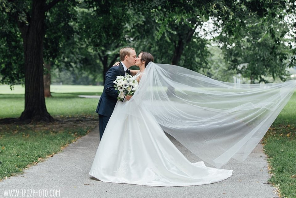 Baltimore Patterson Park Wedding bride and groom • tPoz Photography • www.tpozphoto.com