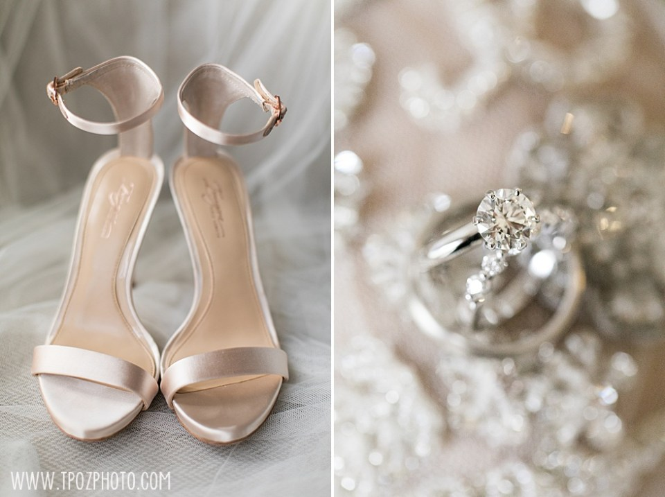 Imagine by Vince Camuto high heels and platinum engagement ring • tPoz Photography  • www.tpozphoto.com