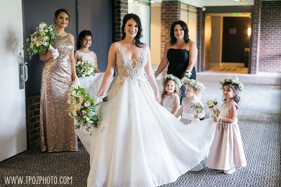 Baltimore Bride in a Badgley Mischka wedding dress from Francesca's Bridal Salon • tPoz Photography  • www.tpozphoto.com