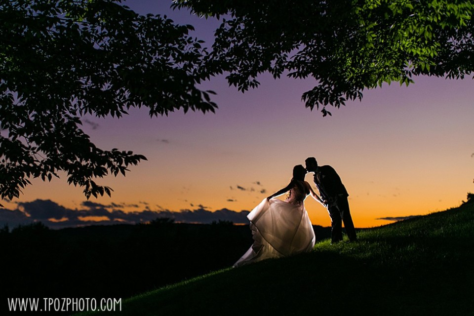 sunset Baltimore wedding at the Grand Lodge of Maryland • tPoz Photography  • www.tpozphoto.com