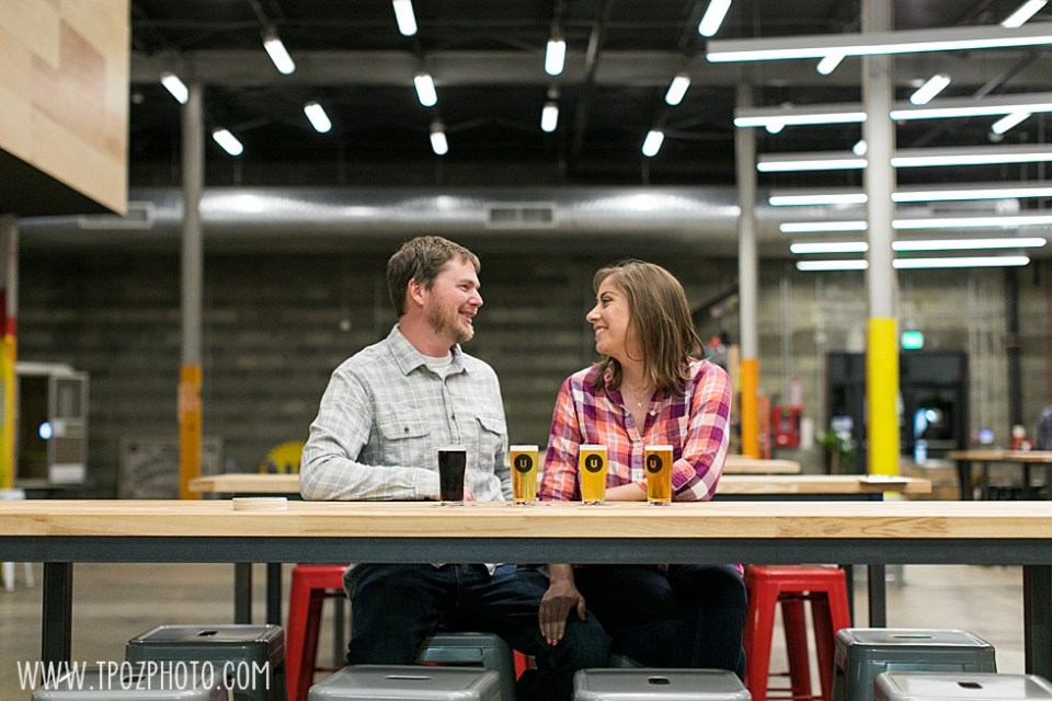 Union Craft Brewery Engagement  •  tPoz Photography  •  www.tpozphoto.com