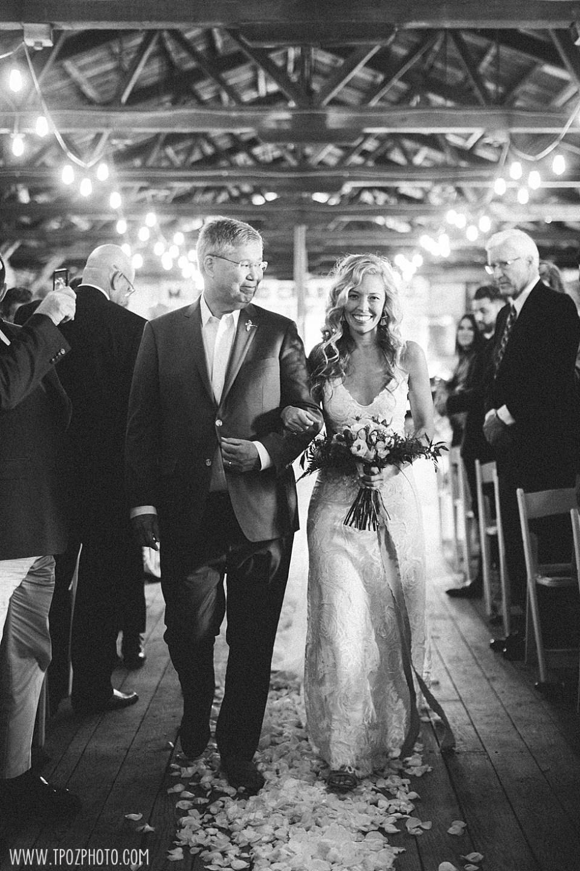 Chesapeake Bay Maritime Museum wedding ceremony