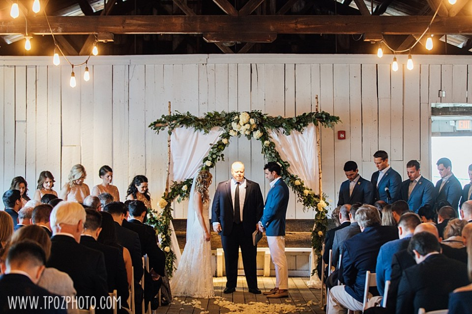 Chesapeake Bay Maritime Museum wedding ceremony