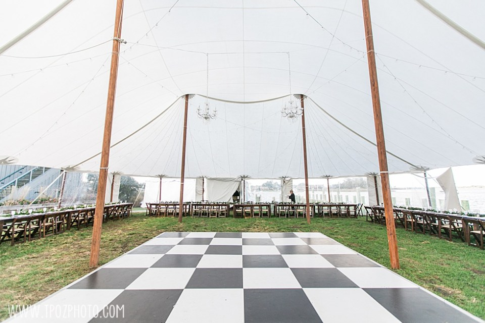 Chesapeake Bay Maritime Museum wedding reception