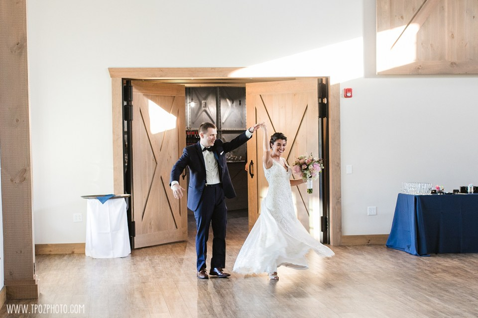 Bride & Groom's entrance