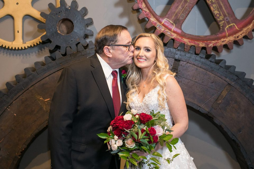 Baltimore Museum of Industry Wedding Photos