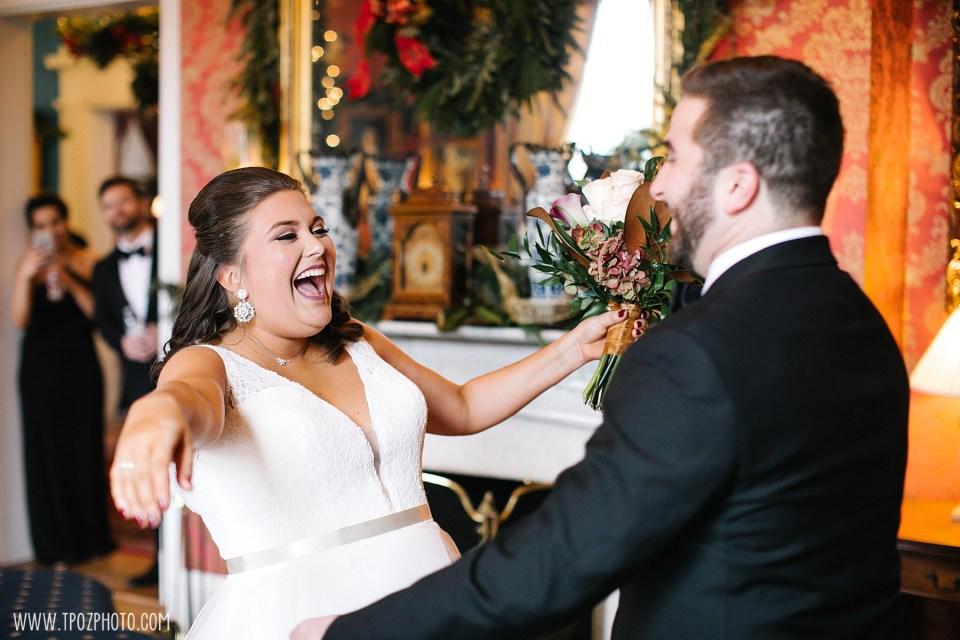 Antrim Wedding First Look