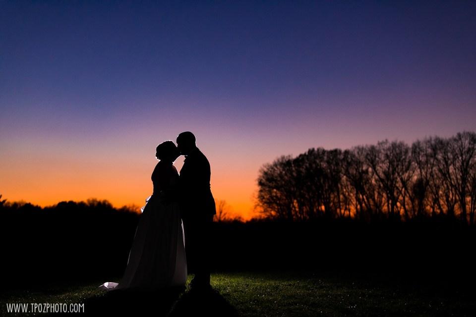 Rosewood Farms Wedding Photos at Sunset • tPoz Photography