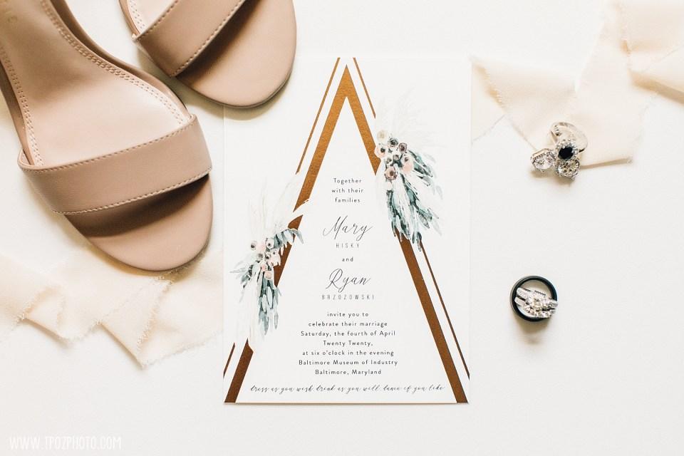 Wedding Invitation & Shoes
