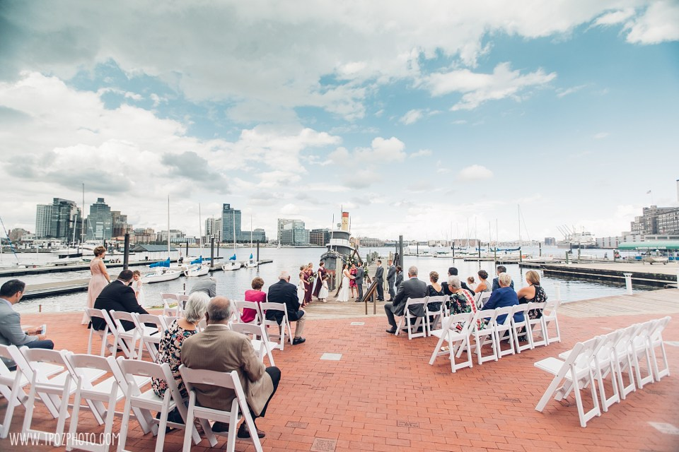 Baltimore Micro-Wedding at the Baltimore Museum of Industry