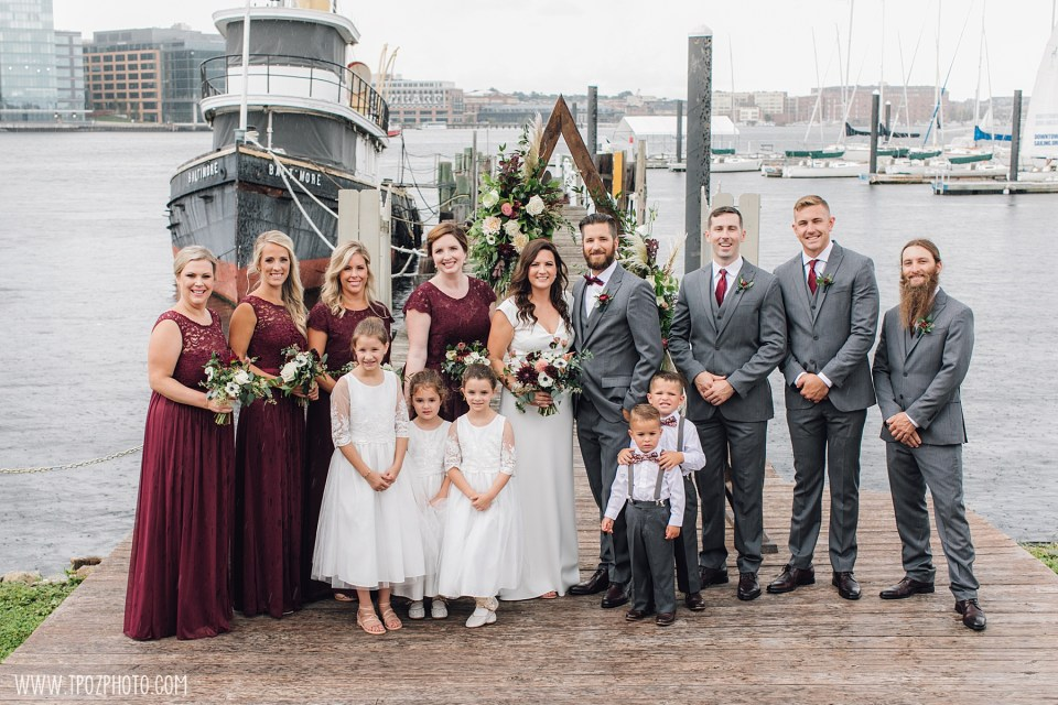 Baltimore Wedding at the Baltimore Museum of Industry