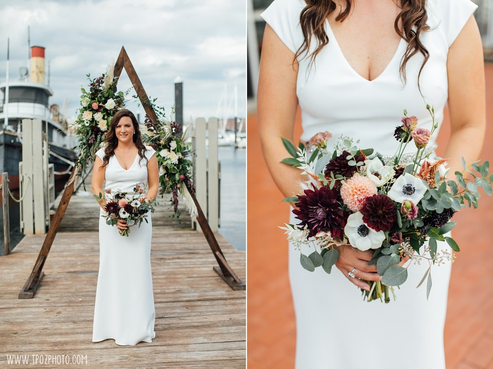 Wedding Photos at the Baltimore Museum of Industry