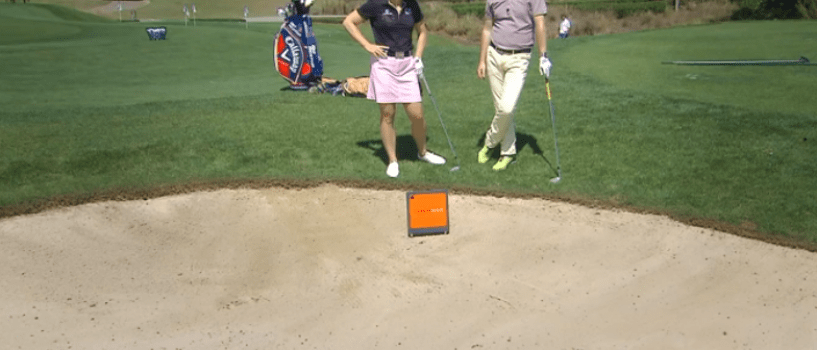 Bunker shot tips with Annika Sorenstam