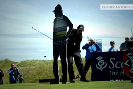 Flop shot challenge – Scottish Open 2014