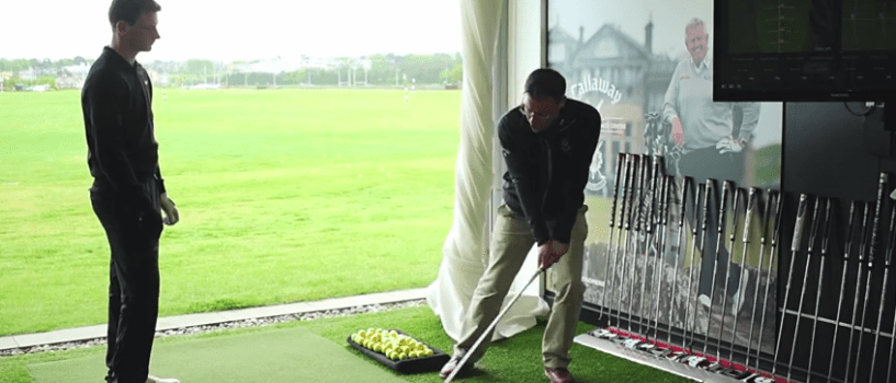 How to hit a low and high shot with your irons
