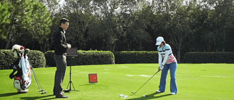 The importance of TrackMan during practice – Julieta Granada