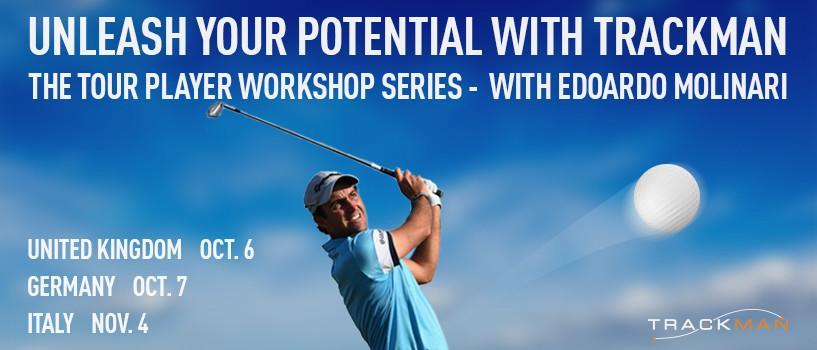TrackMan Tour Player Workshop with Edoardo Molinari