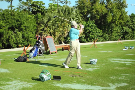 Average Golfers who use TrackMan