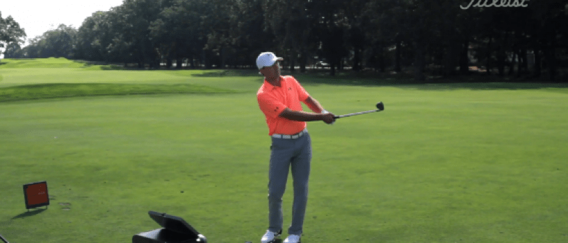 Jordan Spieth sharing a few short game tips