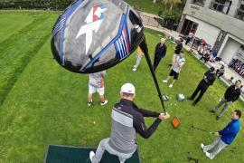 Long Drive Trick Shots – Jamie Sadlowski and Dude Perfect
