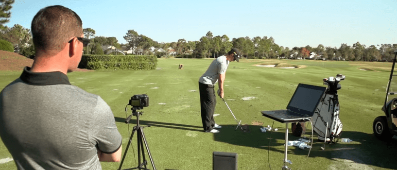 Practice Session: Sean Foley and Justin Rose