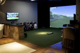 Golf Simulator Show Case
