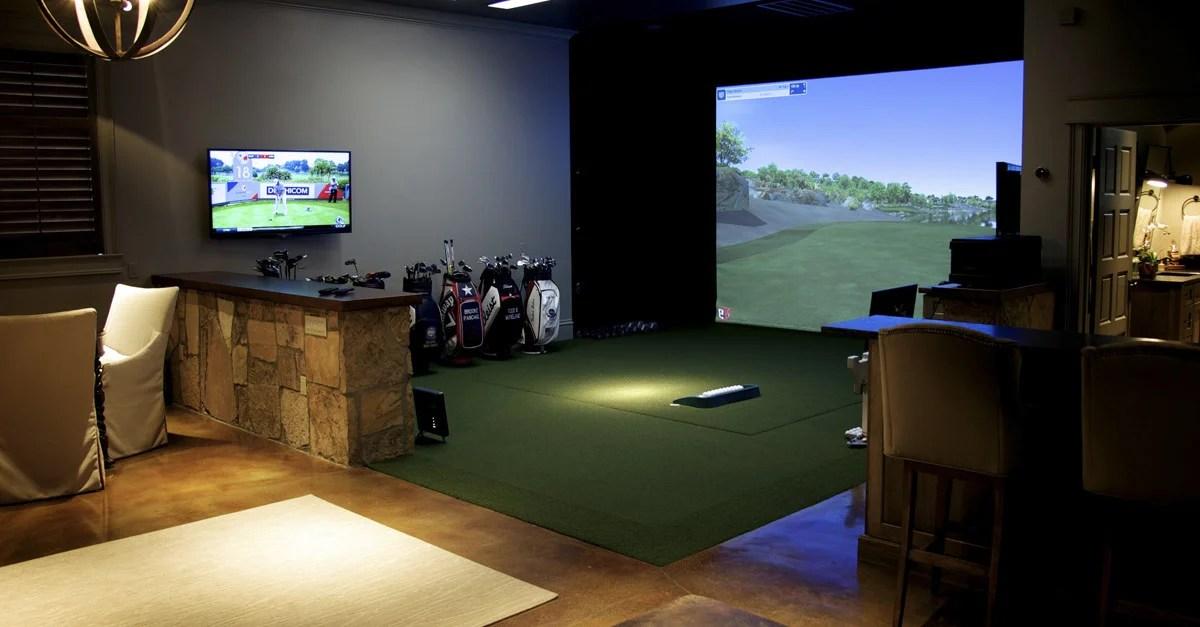 Golf Simulator Show Case Trackman Golf