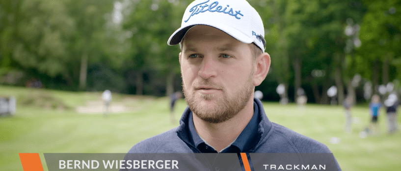 How Bernd Wiesberger uses TrackMan