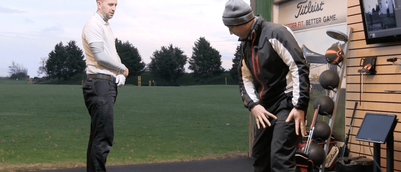 Live Lesson: Learn Your Feet Signature Pattern For Better Swing Direction & Power