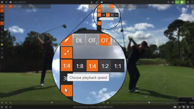 TrackMan Video Playback