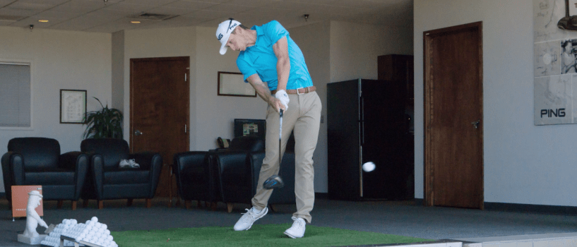 How Brandon Hagy generates power off the tee