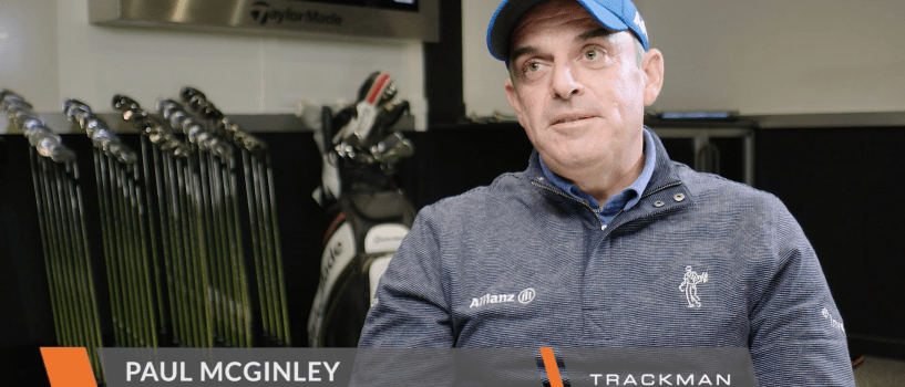 Paul McGinley – Using TrackMan to Simplify and Strengthen his game