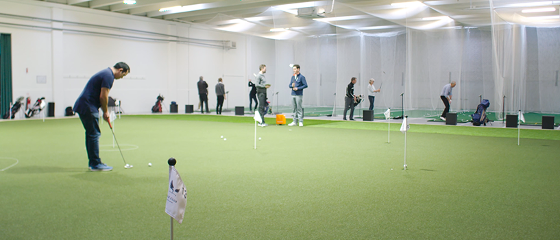TrackMan Indoor Golf