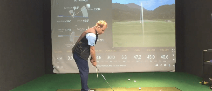 How to hit the Low Wedge Shot from 30-50 yards