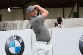 Matt Wallace winner of the BMW International Open