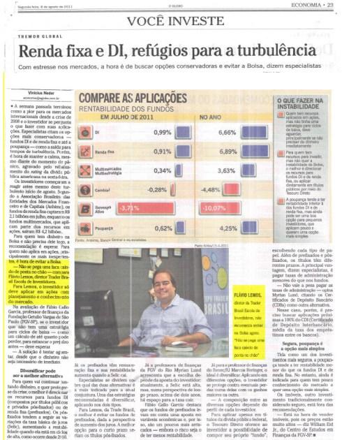 O Globo: Flávio Lemos