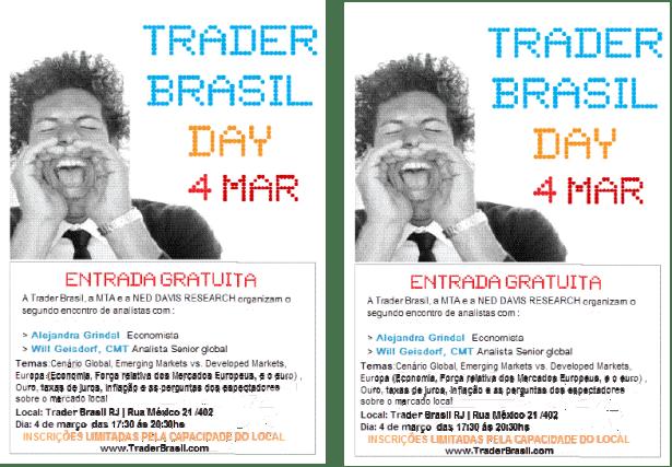 Trader Day 4 Março Rio de Janeiro