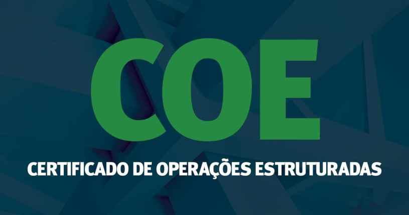 coe CERTIFICADO DE OPERAÇÕES ESTRUTURADAS