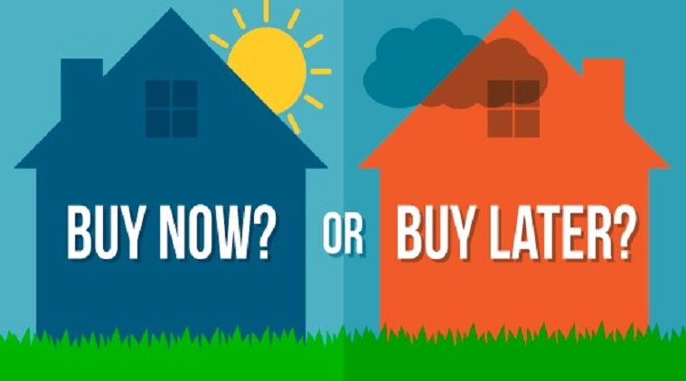Which is a better decision: taking a home loan or buying once I have the money?