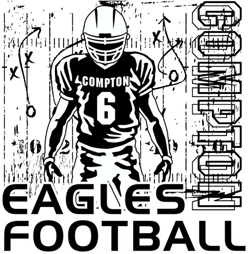 New Football Layout and Clip Art for Custom T-shirt Design