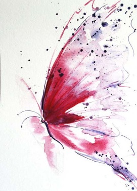 """Papallona, imatge per al poema """"Però sé"""" de Rose Ausländer"""