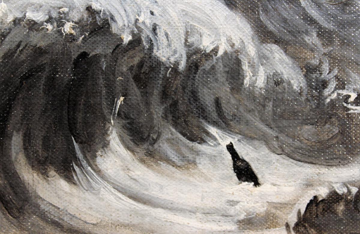 Georges Hippolyte Dilly - Ithaca 525 - Jacqueline Saint-Jean - Ampolla a la mar