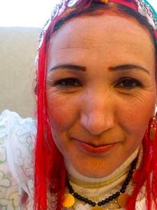 Berber-Woman-Ait-Ouzzine-Village