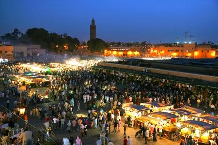 Djemma-el-Fna-Square-Marrakech