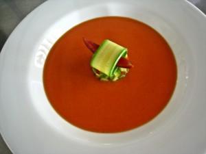Riad Dar Roumana Tomato gazpacho