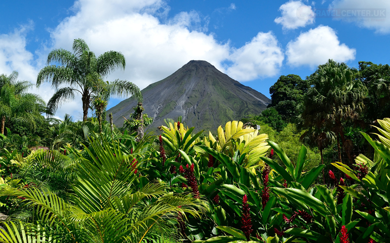 Places to visit with your family - Costa Rica