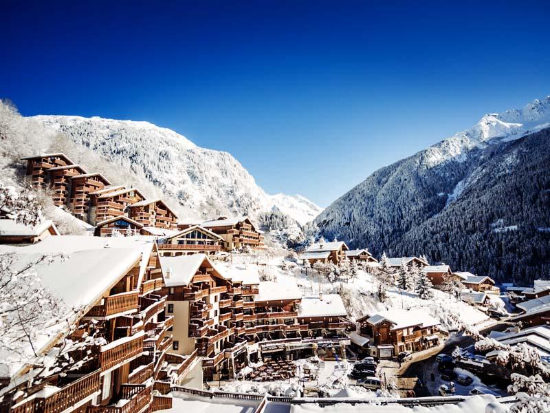ski destinations in Europe - Courchevel, France